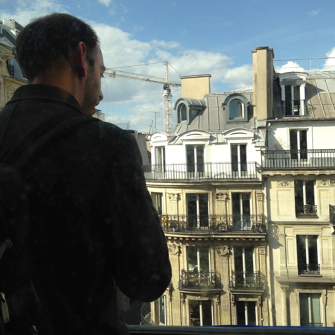מיטל קובו, אם איש צועק ביער, 2015, תעוד פעולה בריבולי 59, פריס 3 Meital Covo, Un Homme qui Crie dans la Forêt, 2015 action documentation, Rivol