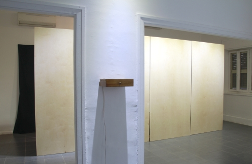 At another Time, 2018, sound installation, installation view, Villa Gallery